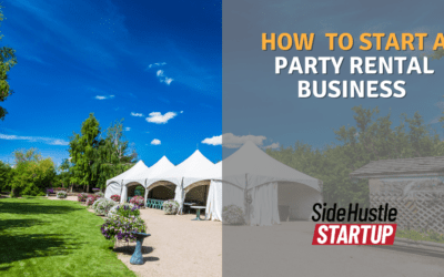 3 Easy Steps to Start a Party Rental Business